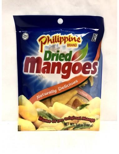 PHILIPPINE DRIED MANGOES - 100g