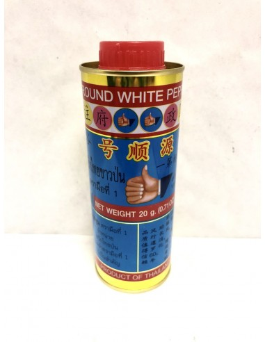 HAND WHITE PEPPER POWDER - 20g