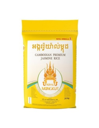 ROYAL MONGKUT JASMINE RICE - 20kg
