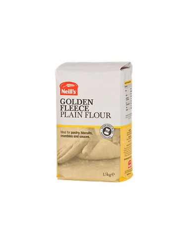 NEILLS GOLDEN FLEECE PLAIN FLOUR - 1.5kg