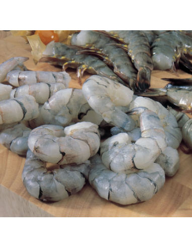 GOLD WATER RAW PEELED KING PRAWNS...