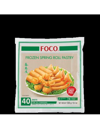 FROZEN FOCO SPRING ROLL PASTRY 8.5''...