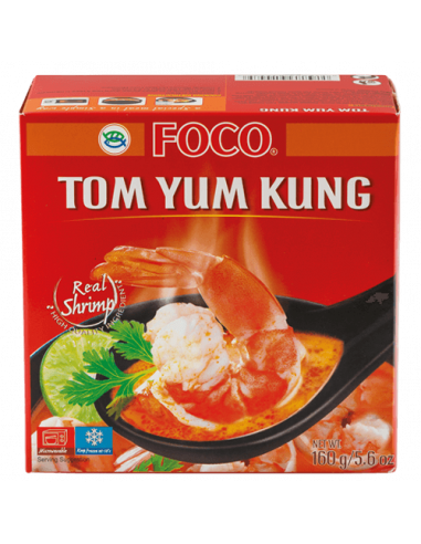 FROZEN FOCO TOM YUM KUNG SOUP - 160g