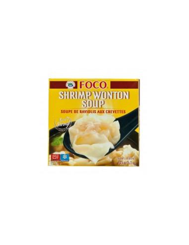 FROZEN FOCO SHRIMP WONTON SOUP - 145g