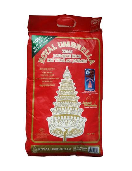 Royal Umbrella Jasmine Rice 10kg bag