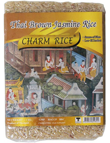 CHARM THAI BROWN JASMINE RICE - 1KG