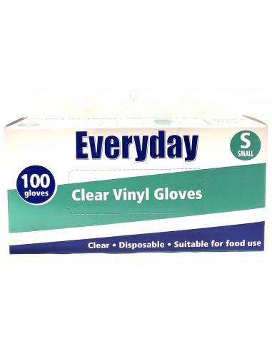 SMALL VINYL GLOVES – 100 gloves