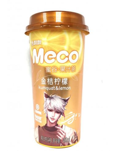 MECO KUMQUAT & LEMON FRUIT TEA - 400ml