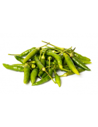 FRESH SMALL GREEN CHILLI 100G