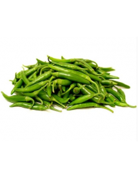 FRESH LARGE GREEN CHILLI 100G