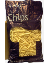 7x7 Julienne Chips - 2.5kg - Sterling