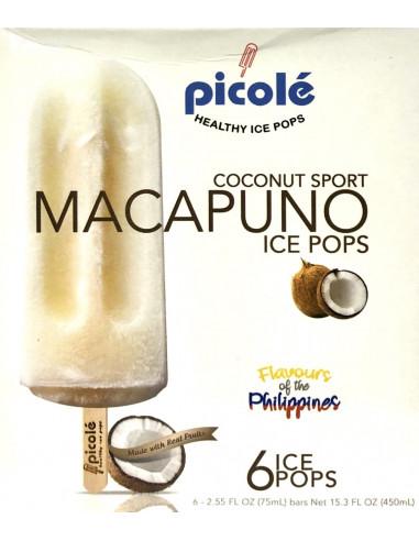 PICOLE ICE POPS MACAPUNO- 6X75ml