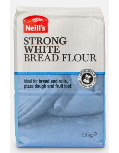 NEILLS STRONG WHITE BREAD FLOUR - 1.5kg