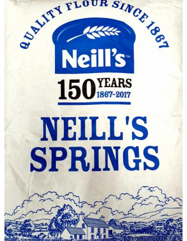 NEILLS STRONG WHITE BREAD FLOUR 16kg