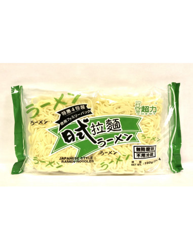 CHEWY JAPANESE STYLE RAMEN NOODLE -...