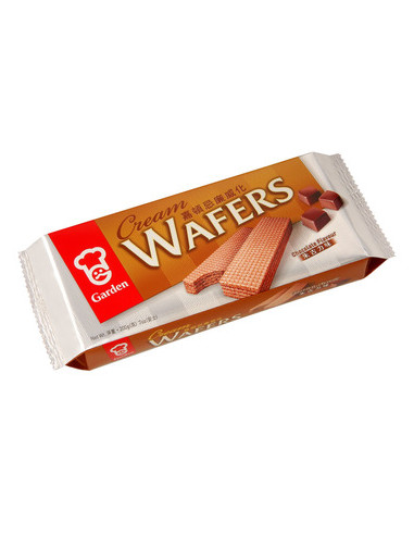 GARDEN CREAM WAFERS CHOCOLATE FLAVOUR...