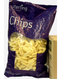 10x10 Chips - 2.5kg - Sterling