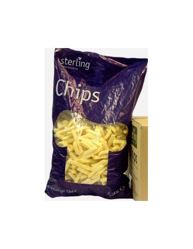 10x10 Chips - 2.5kg - Sterling