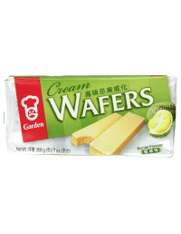 GARDEN CREAM WAFERS DURIAN...