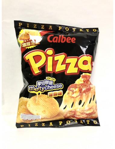 CALBEE POTATO CHIPS PIZZA FLAVOUR - 55g