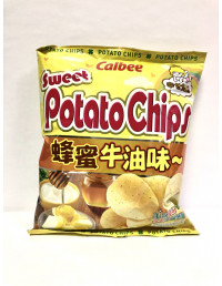 CALBEE POTATO CRISPS HONEY&BUTTER FLAVOUR - 55g