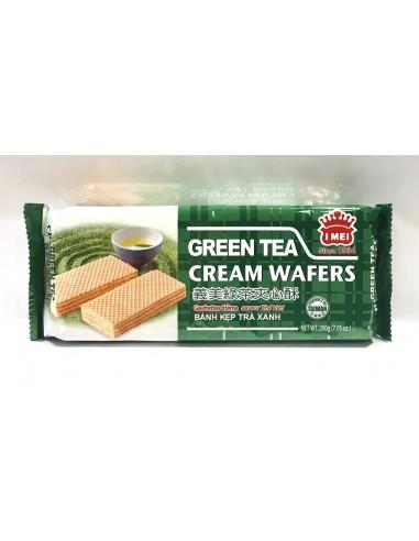 I MEI GREEN TEA CREAM WAFERS – 200g