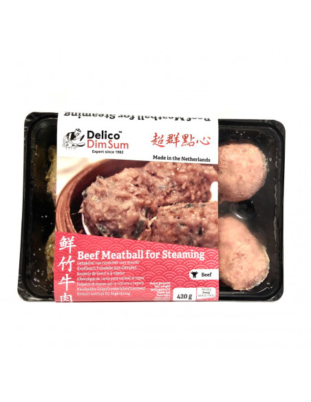 ST ANNY BEEF MEAT BALLS FOR STEAMING 8PCS