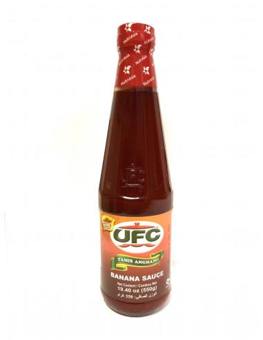 UFC BANANA SAUCE HOT & SPICY - 550g