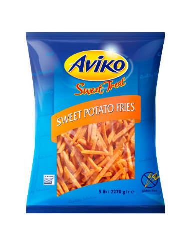 Sweet Potato Fries - 20.5kg - Aviko