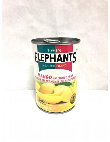 TWIN ELEPHANTS AND EARTH BRAND MANGO...