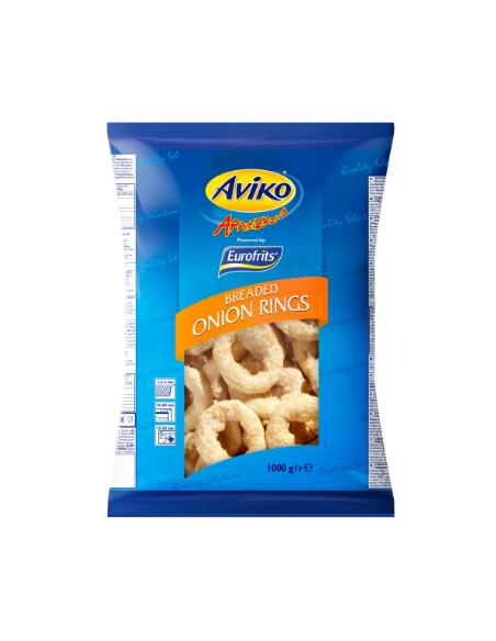 Onion Rings - 1kg - Aviko