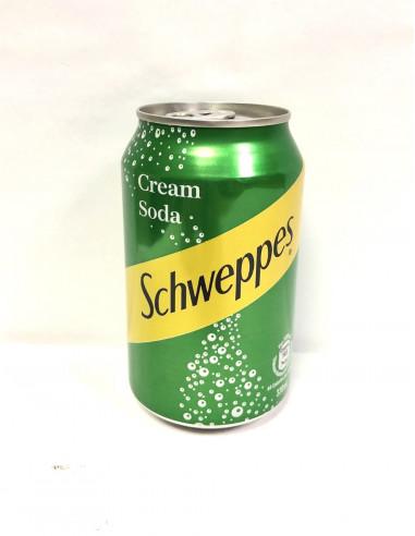 SCHWEPPES CREAM SODA 330ml