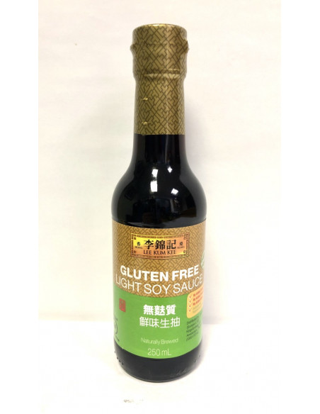 LKK GLUTEN FREE LIGHT SOY SAUCE - 250ml