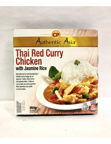 AUTHENTIC ASIA THAI RED CURRY CHICKEN...