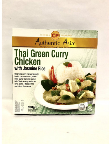 CHAROEN POKPHAND THAI GREEN CURRY CHICKEN WITH JASMINE RICE - 350g