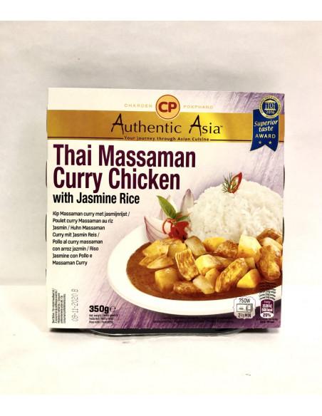 CHAROEN POKPHAND THAI MASSAMAN CURRY CHICKEN WITH JASMINE RICE - 350g