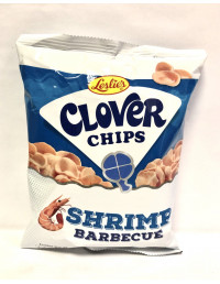 CLOVER CHIPS SHRIMP BARBECUE - 50g
