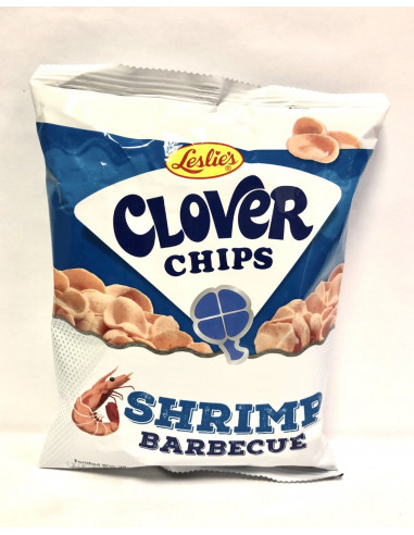 CLOVER CHIPS SHRIMP BARBECUE - 50g