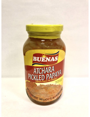 BUENAS ATCHARA PICKLED PAPAYA - 340g
