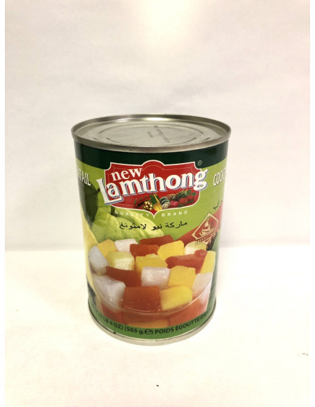 NEW LAMTHONG TROPICAL FRUIT COCKTAIL IN SYRUP - 565g