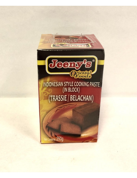 JEENY'S INDONESIAN STYLE COOKING PASTE IN BLOCK - 250g