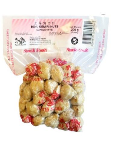 NORTH SOUTH KEMIRI CANDLE NUTS - 200GM
