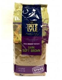 TATE LYLE DARK SOFT BROWN SUGAR - 3KG