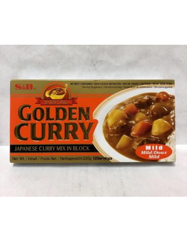 S&B GOLDEN CURRY MILD CURRY SAUCE MIX - 220g