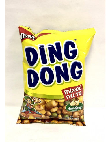 DING DONG MIXED SNACK WITH GROUNDNUTS (PEANUTS) GARLIC FLAVOUR - 100g