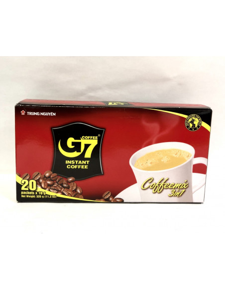 G7 3 IN 1 INSTANT COFFEE DRINK - 20 SACHET