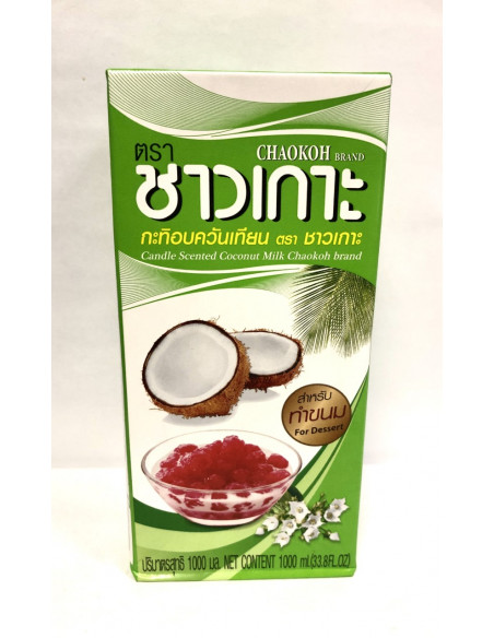 CHAOKOH COCONUT MILK INFUSED WITH SCENTED CANDLE FLAVOURING - 1L