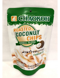 CHAOKOH ROASTED COCONUT CHIPS ORIGINAL FLAVOUR - 40g