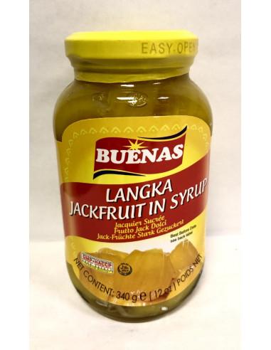 BUENAS JACKFRUITS IN SYRUP - 340g