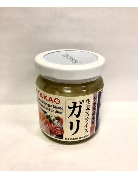 TAKAO PICKLED GINGER SLICED FOR SUSHI&SASHIMI - 200g